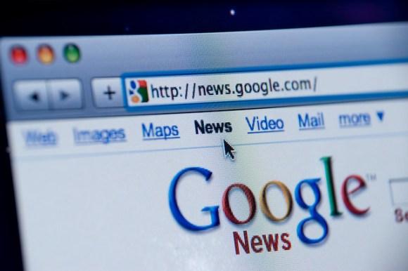 Google News website screenshot