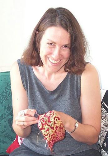Leslie Rinchen-Wongmo, stitching
