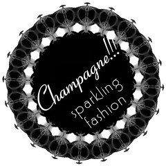 CHAMPAGNE! Sparkling fashion Logo