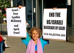 Calling fo the release of Cynthia and the rest of the crew of the Spirit di freegazaorg