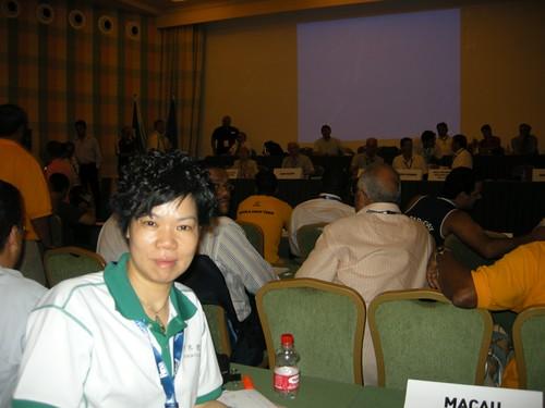725-1李富嬋於世錦賽領隊會議上