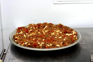 empanada filling, cooling