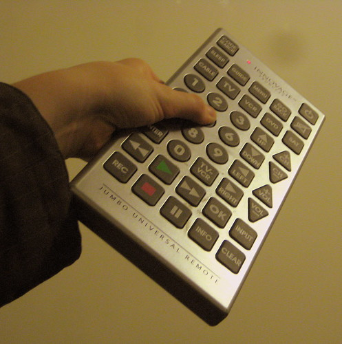 It would make the remote much harder to lose...