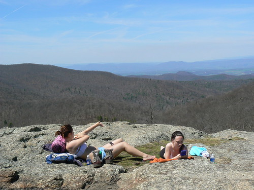 Backpacking - Saturday - Spy Rock - Sunbathers on Top