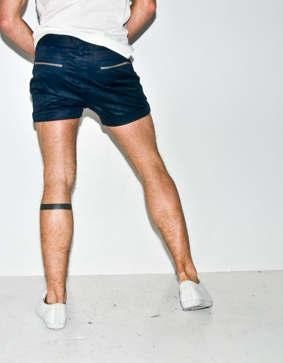 navy b-boy shorts
