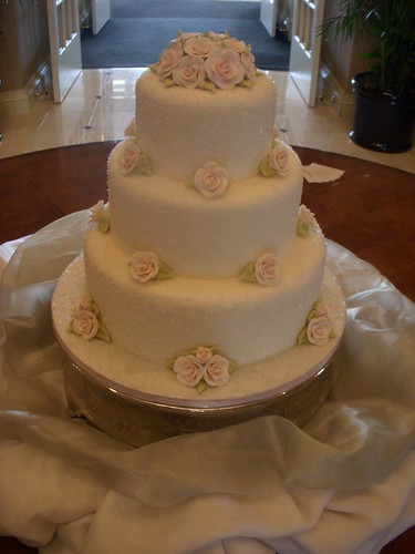Cupcake Heaven Wedding Cake