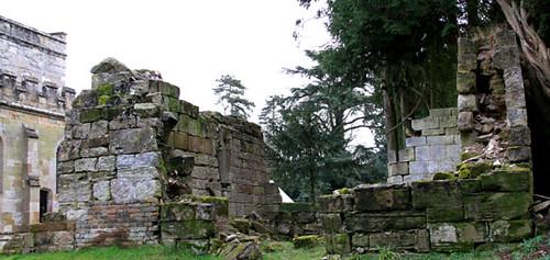 Ruins at Wroxall