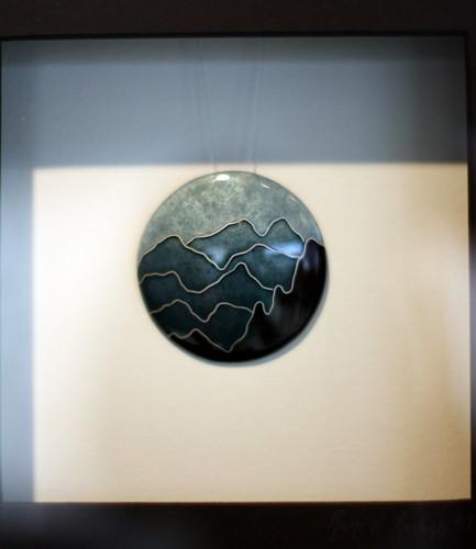 One of Ramune's Enamel Pendants