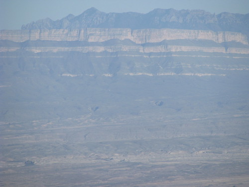 Sierra del Carmen from the South Rim