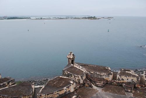 View from El Morro towards Isla de Cabras