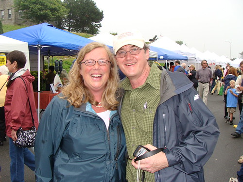 Mayor Kirk and Mark McDonough Celebrate Opening Of The Cape Ann Farmers Market
