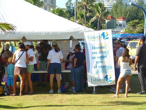 Registering for Coastal cleanup