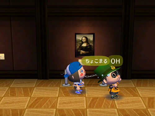 Chokomaru burst into tears upon seeing the Famous Painting lol!