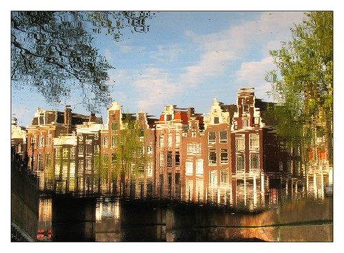 Canal houses by you.