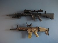 DIY wall mount / gun rack? - Airsoft Canada