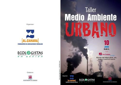 Taller Medio Ambiente Urbano Córdoba 10 de junio