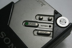 sony walkman - buttons (by kapil_b)