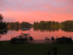 Sunset - Lake Beseck