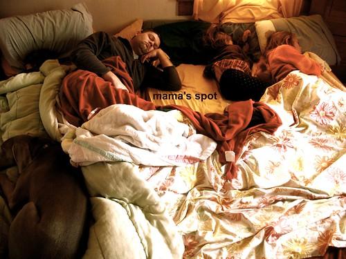 family sleep