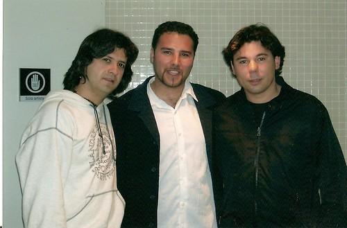 Luis EScudero con Chicuelo y Poveda
