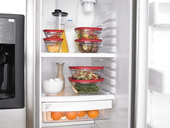 Glass food storage containers - Fridge