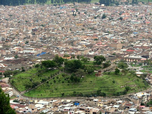 Vista de Cajamarca