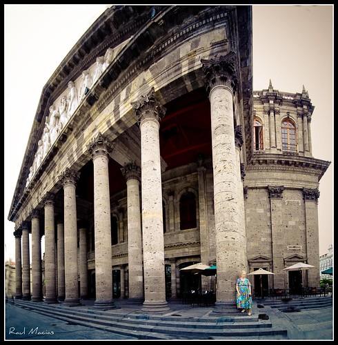 Teatro Degollado Guadalajara Jalisco Mexico