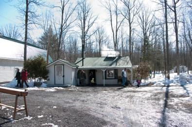 sugar shack..