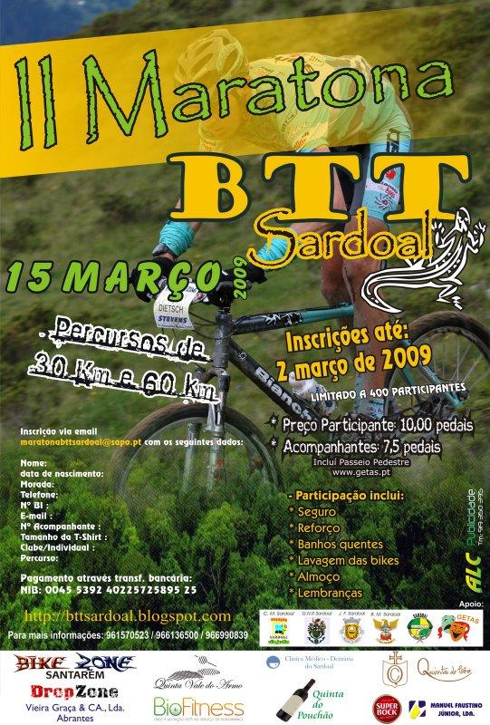 II Maratona BTT no Sardoal
