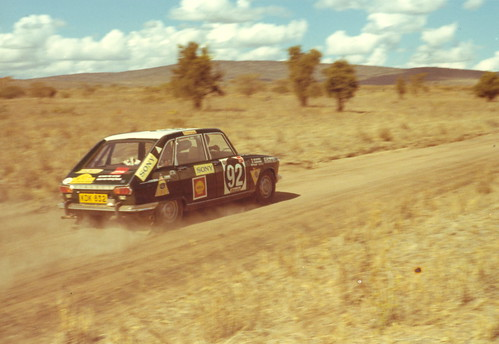 East African Safari  Renault 16