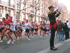 Paris Marathon 2009