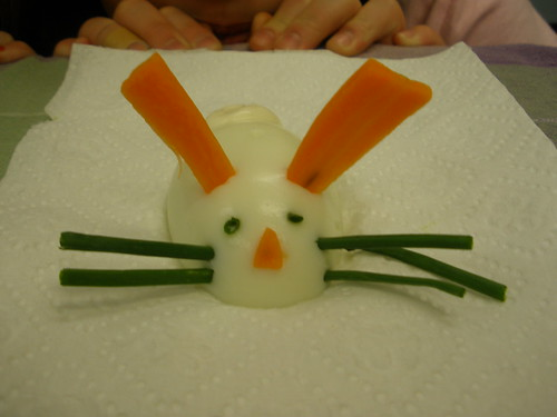 Sophia's Finished Bunny Egg