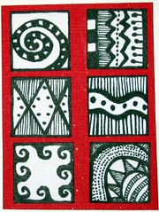 D is for Doodling Atc
