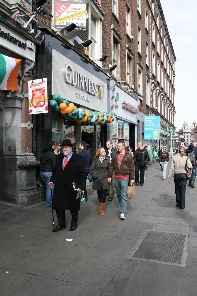 People in Dublin