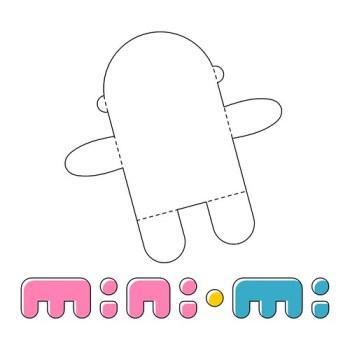 """Marca dos bonequinhos caricaturais """"mini-mi"""""""