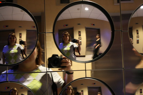 Self Portrait in Mirrors