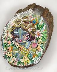 Krishna Decorated Delicate dots - ISKCON desir...