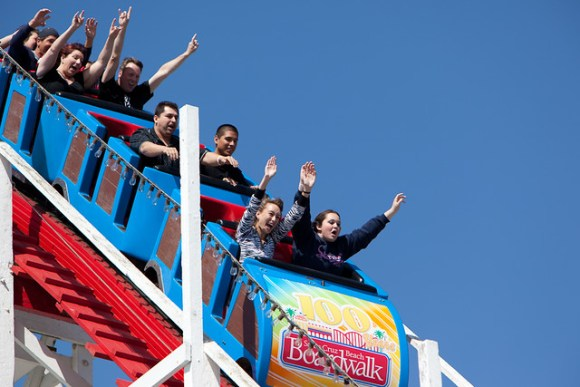 Giant Dipper - Santa Cruz Beach Boardwalk, CA