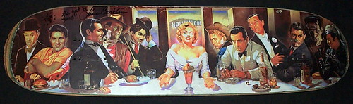 classic hollywood last supper