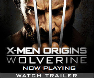 Wolverine Trailer in PlayStation Home
