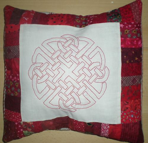 Redwork Cushion Swap