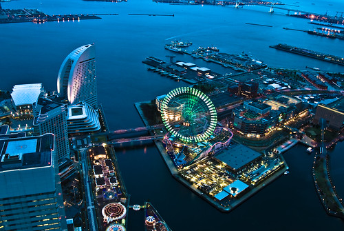 Yokohama, night shot