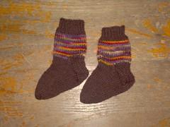 Cosmos Baby Socks