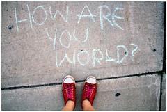 Sidewalk Messages ^______^