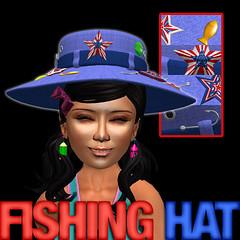 Stars + Stripes Fishing Hat