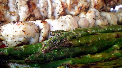 foil packet asparagus