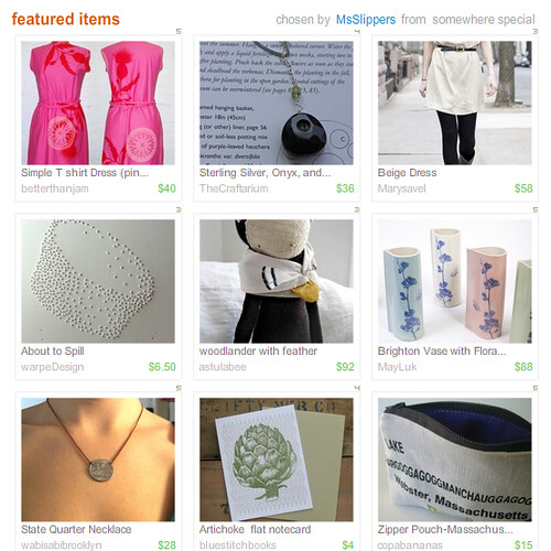 My first time featured in a treasury!