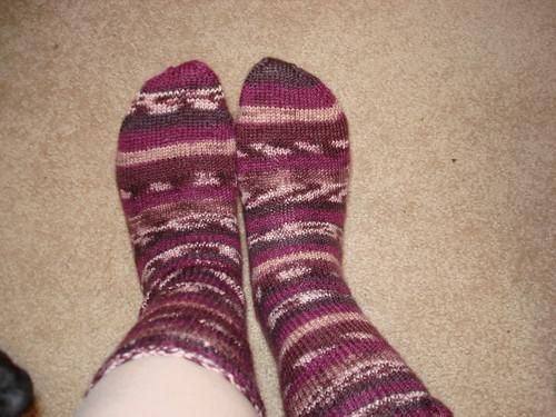 Finished socks 4-17-2009 7-34-45 AM