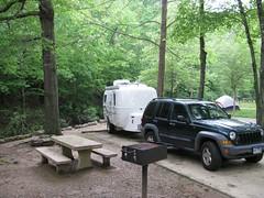Gulpha Gorge - Campsite