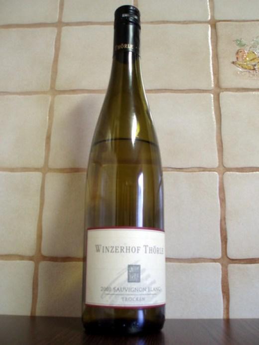 2008 Sauvignon Blanc trocken Winzerhof Thörle Saulheim